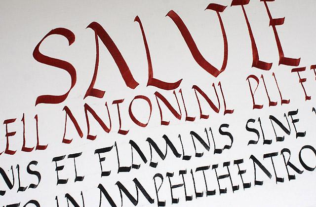 Römische Inschrift