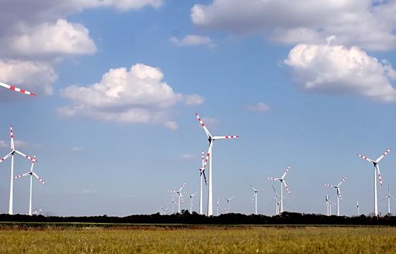 Windkraftanlage - Windfarm
