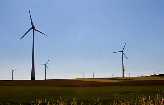 Alternative Energie: Windkraft