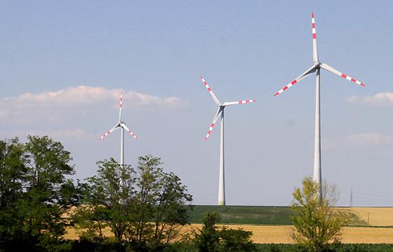 Windkraftanlage, Burgenland