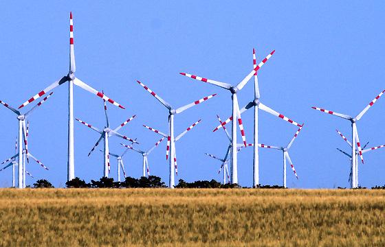 Windpark - Windkraftanlage, Burgenland