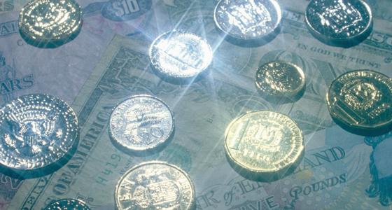 Geld, Wirtschaftskrise, Währungsreform, Banken: Symbolbild