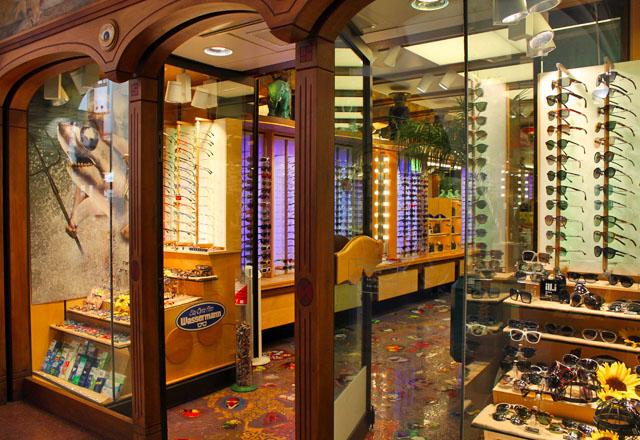 Brillen-Couture in der Altstadt von Bozen