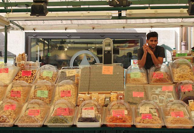 Bozen: Markt in der Altstadt