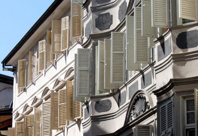 Bozen - Altstadt: Architekturaufnahme