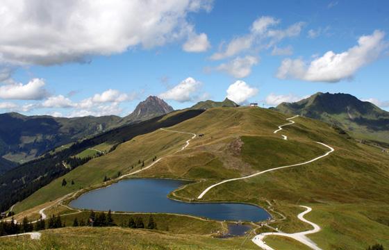 Resterhöhe - Pass Thurn im Sommer