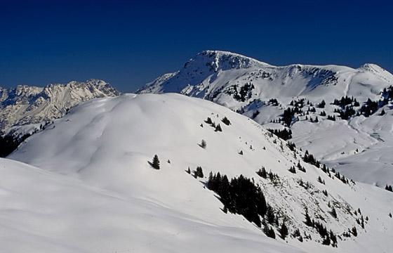 Winterlandschaft - Bergpanorama - Tirol