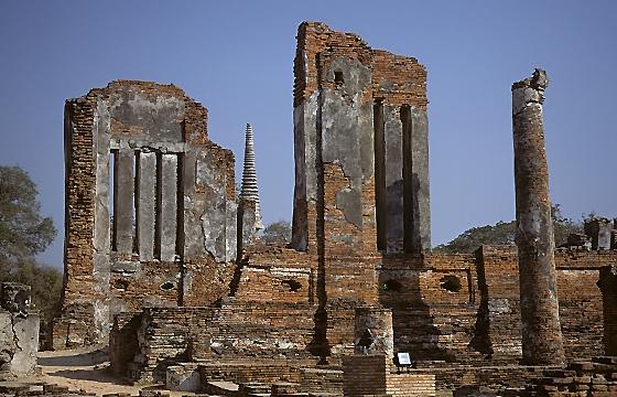 Thailand - Ayutthaya: Historische Tempelanlage