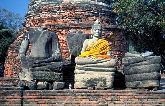 Thailand - Ayutthaya - Tempelanlage