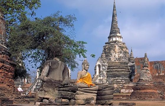Ayutthaya - Tempelanlage