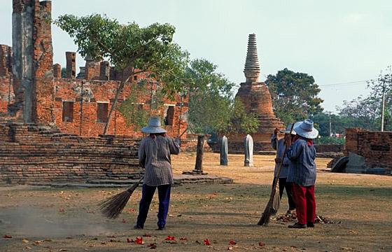 Ayutthaya - Archäologische Fundstelle
