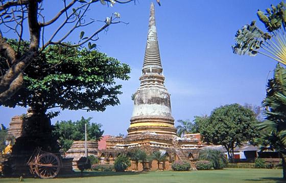 Ayutthaya - Tempelruinen