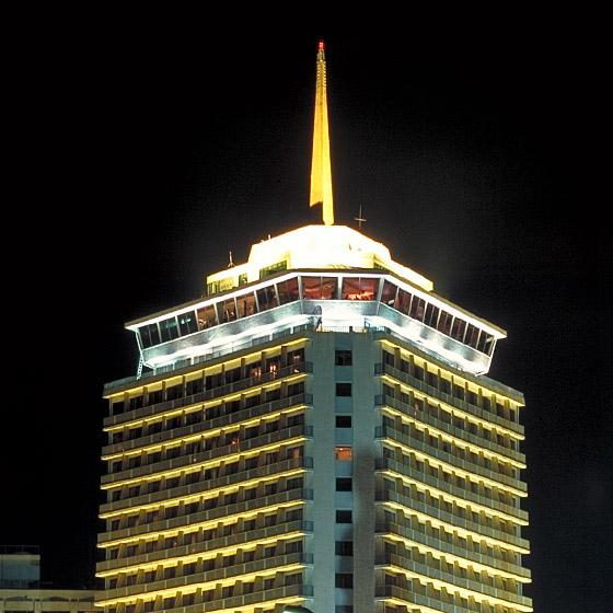 Bangkok - Wolkenkratzer bei Nacht