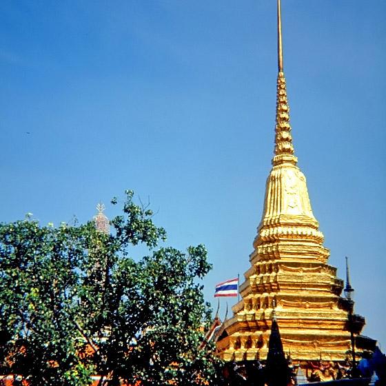 Bangkok: Tempelanlagen prägen das Stadtbild
