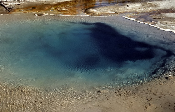 Yellowstone National Park - Schwefelquelle