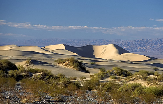 USA: Death Valley - Dunes - Dünen