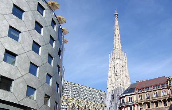 Wien - City - Haashaus mit Stepfanhsdom