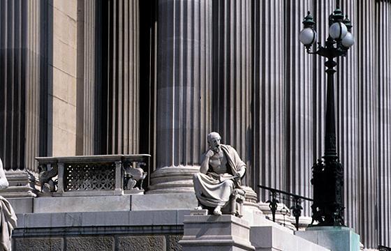 Wien - Parlament - Architekturfotografie