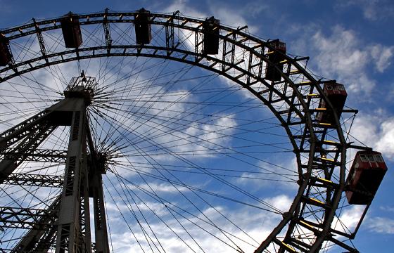 Wien - Prater - Riesenrad