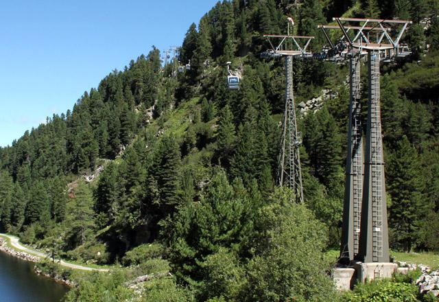 Gletscherbahn: Gondelbahn in die Weißsee Gletscherwelt / Uttendorf, Pinzgau