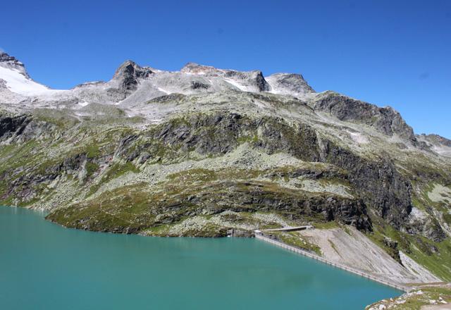 Weißsee: Bergpanorama von der Rudolfhütte gesehen