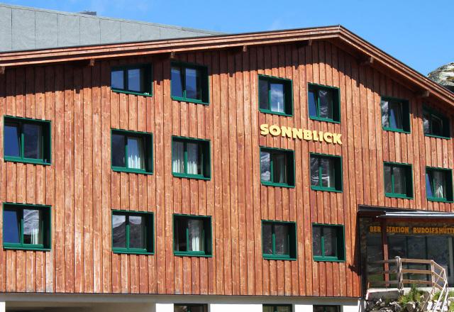 Uttendorf / Weißsee: Sonnblick - Bergstation