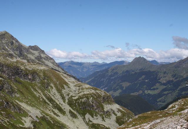 Weißsee: Imposante Bergkulisse der Hohen Tauern