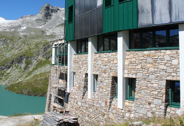 Berghotel Rudolfshütte: Ein tolles Panorama!
