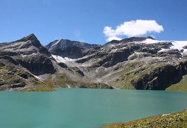 Weißsee: Bergpanorama