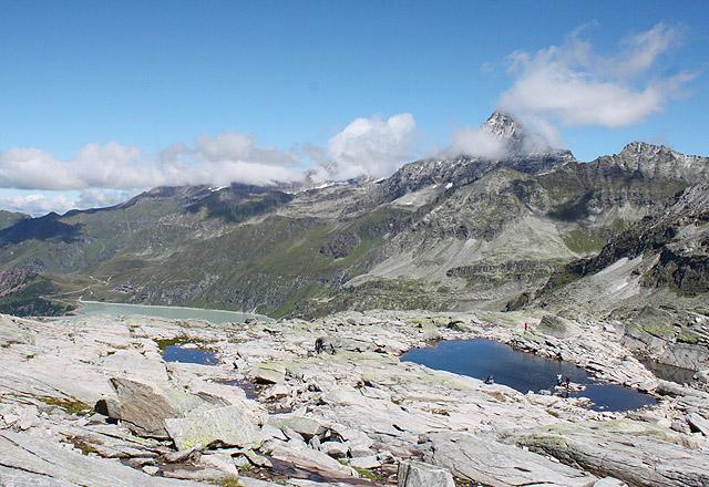 Bergpanorama am Medelzkopf / Weißsee