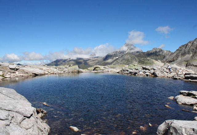 Weißsee Gletscher im Sommer - Gletschersee & Panorama