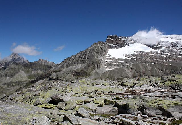 Weißsee Gletscherwelt - Bergpanorama