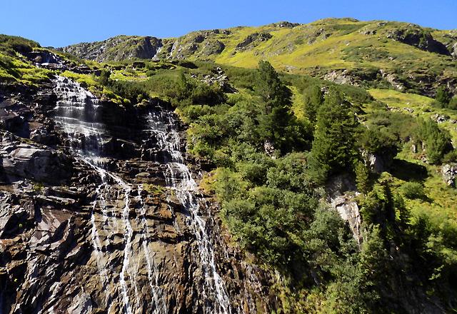 Weißsee Gletscherwelt - Wasserfall