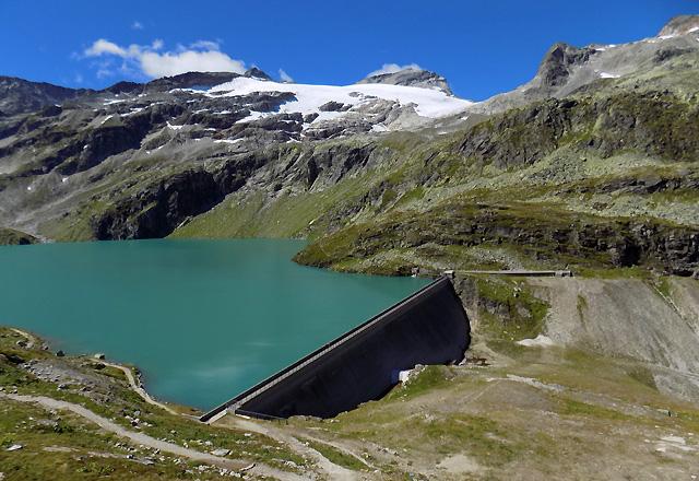 Weißsee Gletscherwelt - Weißsee-Speicher