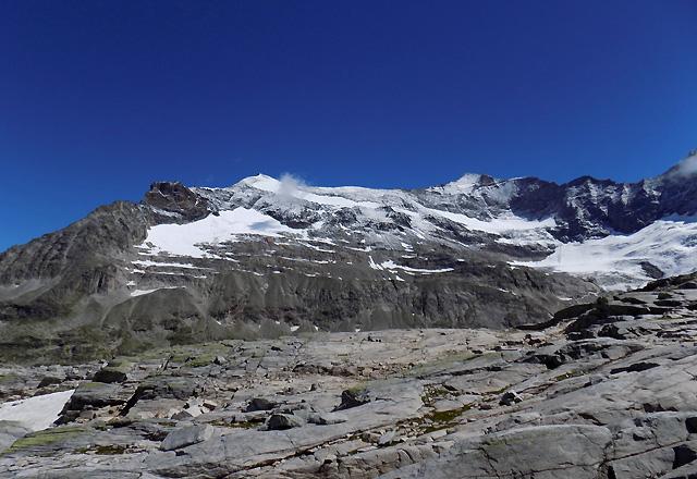 Bergpanorama - Gletscherwekt Weißsee