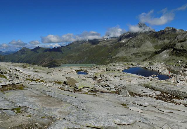 Weißsee Gletscherwelt - Panorama mit 3000er der Hohen Tauern
