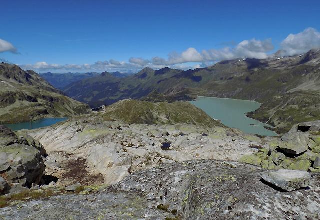 Weißsee Gletscherwelt - Panorama mit Tauernmoos-Speicher