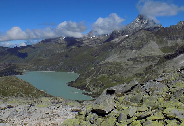 Weißsee Gletscherwelt - Tauernmoos-Sperre und Bergpanorama