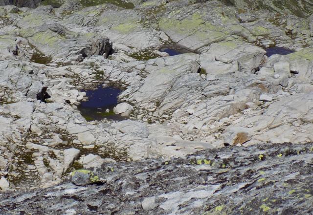 Weißsee - Gletscherimpressionen - Gletschertöpfe überall