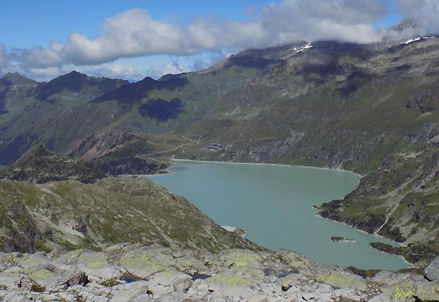 Tauernmoos-Sperre / Gletscherwelt Weißsee