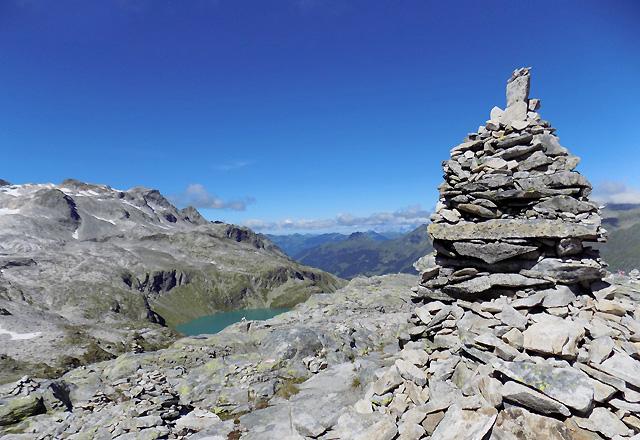 Felsformation am Medelzkopf / Gletscherwelt Weißsee