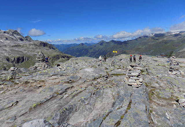 Wandern am Medelzkopf / Weißsee Gletscherwelt
