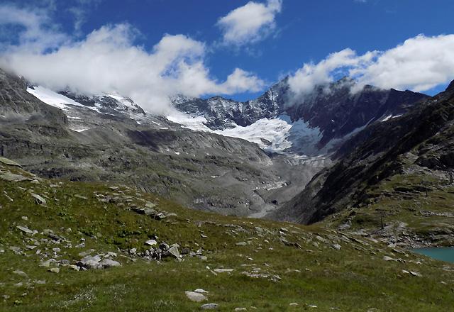 Gletscherwelt Weißsee - Bergpanorama