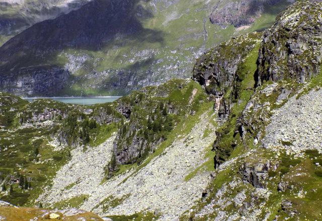 Gletschwelt Weißsee - Ausblick aus Gletscherbahn