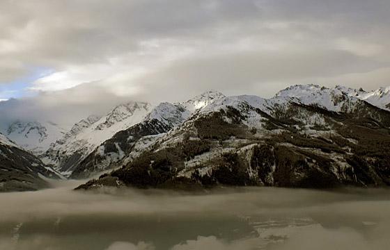 Wetterfront über den Hohen Tauern / Pinzgau