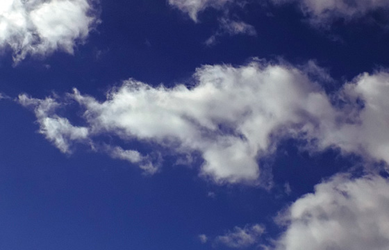 Wolke: Zart wie Watte, fluffig weich ...