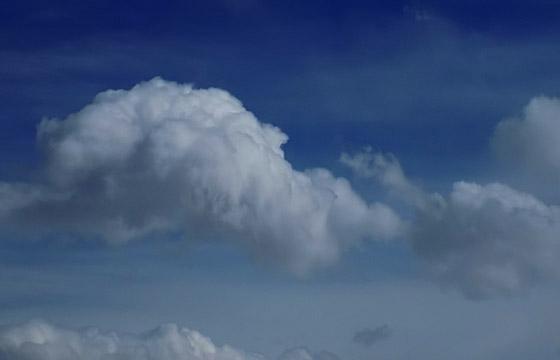 Wolkengebilde und Wetterwechsel - ein Naturschauspiel!