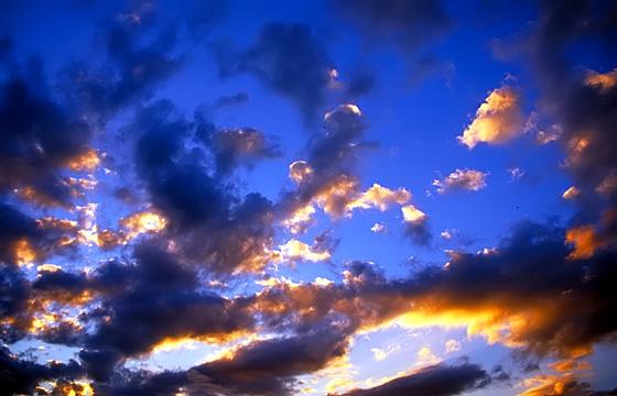 Abendhimmel - Wolkenformation